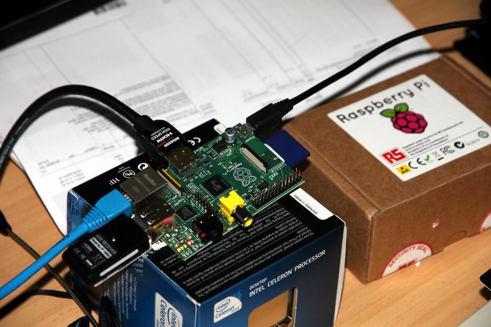 Raspberry Pi erste Einrichtung